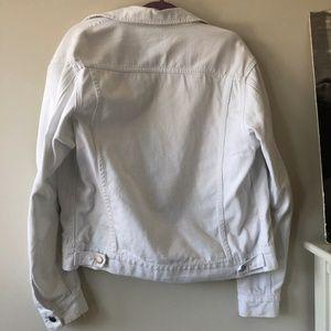 American Apparel Jackets & Coats - American Apparel White Denim Jacket